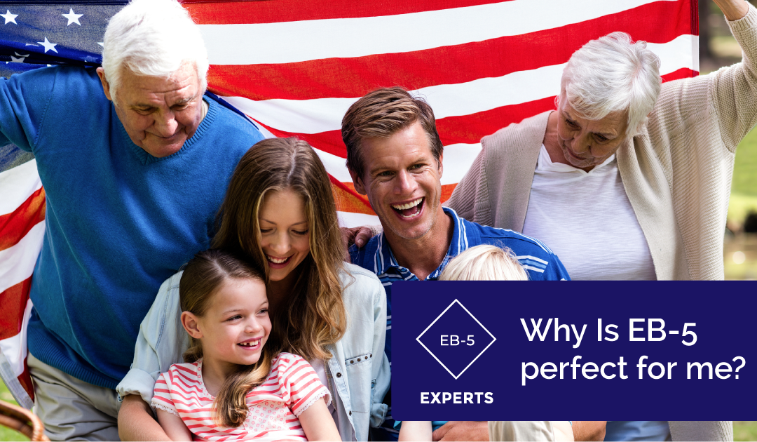 Why is the EB-5 visa perfect for immigrants of all ages?
