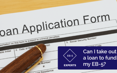Can I take a loan to make an EB-5 investment?