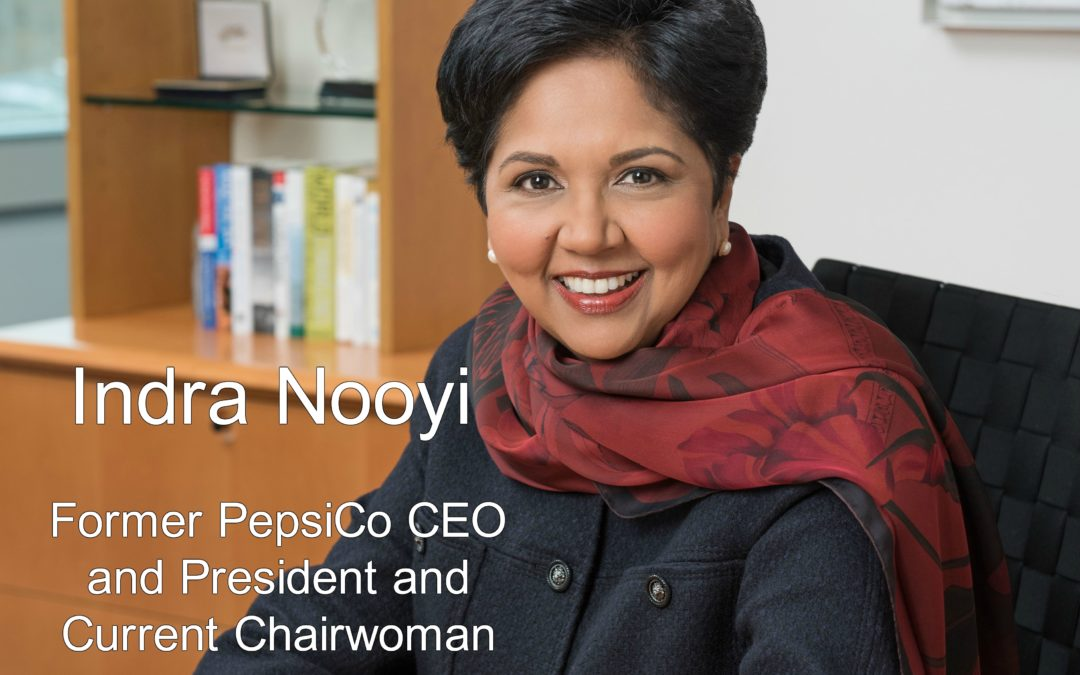 Indra Nooyi: Indian-born Immigrant & First Female PepsiCo CEO and President